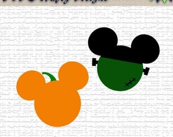 Halloween Mickey svg | Halloween svg | Mickey Mouse svg | Fall | SVG | Pumpkin | Instant download | For Cricut, Silhouette, etc.