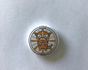 Little Dude Original Pins (Orange)