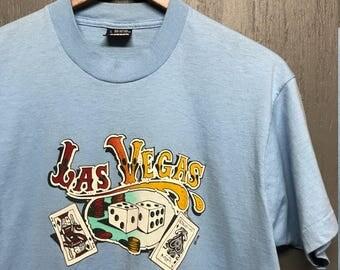 M vintage 80s/90s Las Vegas screen stars tourist t shirt