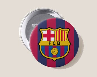 FC Barcelona Button | 3 Inches