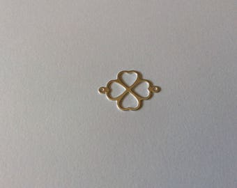 Insert 21.5 mm 925 sterling silver clover
