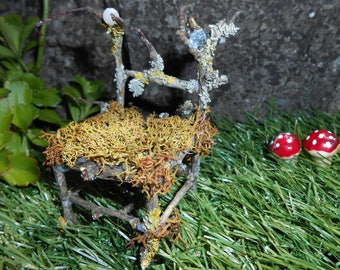 A Woodland fairy chair