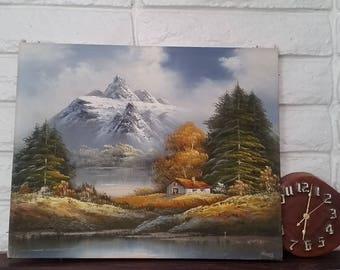Mountain Scene Painting