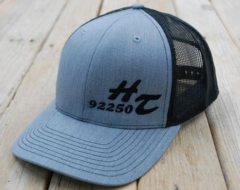HT 92250 Snap-Back Trucker Cap - Structured