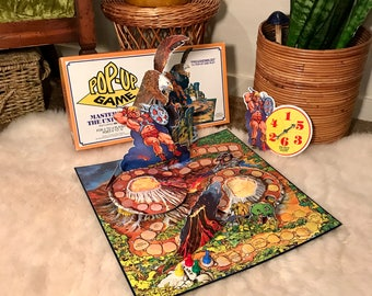 1982 He-Man Masters of the Universe Pop-Up Game