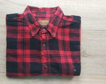 Vintage Flannel shirt - red
