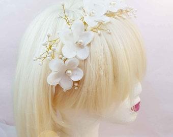 Evening or a wedding headband headband