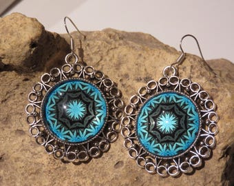 "Earrings ""collection mandalas"" 4"