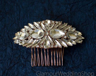 Sale - Wedding Hair Comb Rhinestone Hair Comb Wedding Jewelry Bridal Hair Comb Bridesmaid Comb Bridal Jewelry flower girl Wedding Accessory