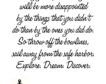 Mark Twain Quote Instant Download Print