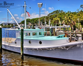 The Alice Belle, South Port Waterfront, South Port NC by Robby Bryant Photography