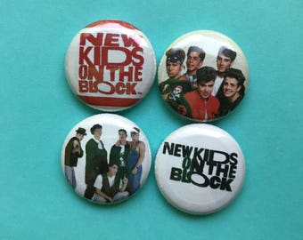 New Kids 1 inch magnets
