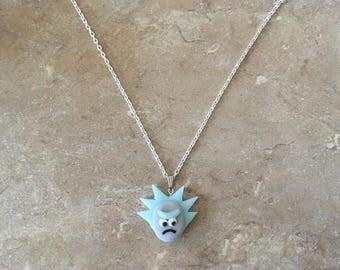 Grandpa clay necklace