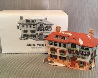 Dept 56 Heritage Village  - Alpine  Collection,  Gasthof Eisl