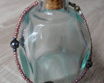 """Hematite love"" bracelet"
