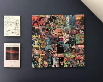 Comic Book Wall Art