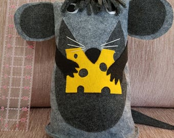 Mouse Pillow / Stuffed Toy