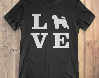 Portuguese Water Dog T-Shirt Gift: I Love Portuguese Water Dog