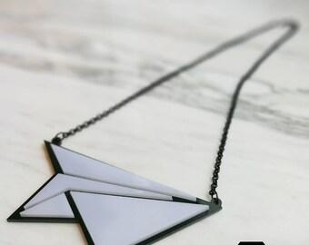 Paper Aeroplane Necklace - N11