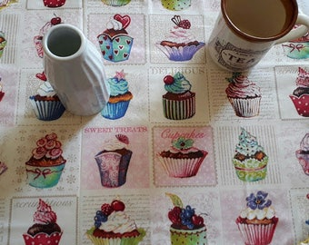 American Placemat, Placemat breakfast, placemat breakfast, Cotton placemat, placemat for snack, placemat