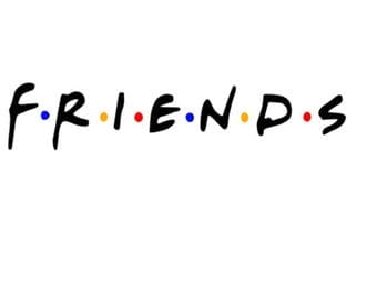 Friends Inspired Iron-On Decal