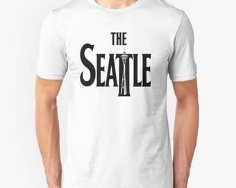 Cool seattle shirt i love seattle shirt i heart wa for Custom dress shirts seattle