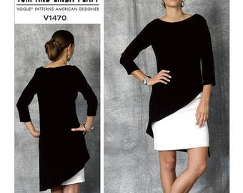V1470 Vogue dress sewing pattern