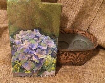 Vintage violet Vintage decor Vintage kitchen Vintage violets Wood decor Vintage house Violet decor Ultra violet decor Wooden  purple decor