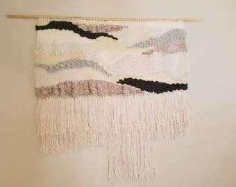 LARGE Handmade Wall Hanging | Woven Tapestry Weaving