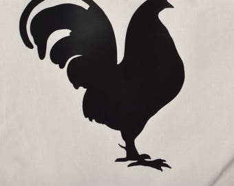 Rooster Canvas Bag