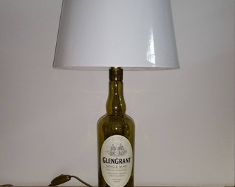 GlenGrant bottle Lamp
