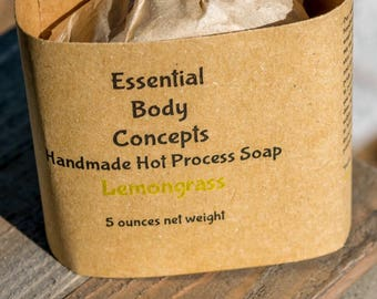 Lemongrass Soap 5 oz