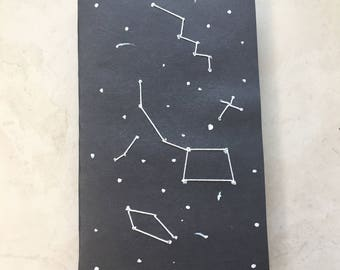 Softcover Embroidery Constellations Notebook