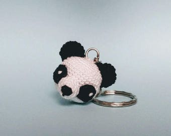 Panda Amigurumi crochet Key chain-gift idea