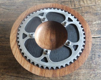Cog Oak bowl