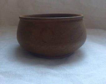 Mini Walnut Pot