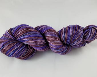 Song of Hope, DK Weight, Cabled yarn, hand dyed yarn, handdyed yarn, hand painted, superwash merino wool, variegated