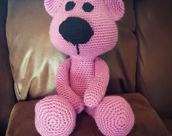 Crochet Stuffed Bear