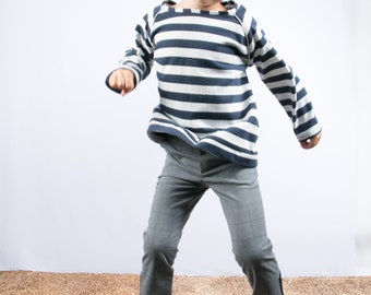 jumper sweater boy's clothing striped pullover