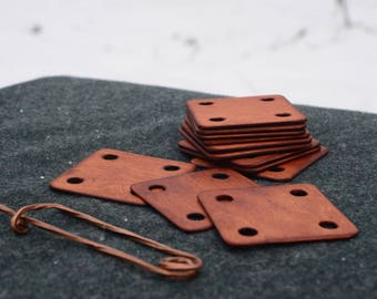 Tablet weaving / Cards for braid weaving / 5 x 5 cm / 1,5 mm thickness / Tablet weaving craft / Medieval viking art / Weaving reenactment