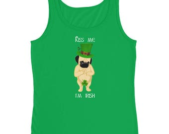 pug lover, pug gifts, st patricks day tank top, , st paddys day, St Patricks Day tee, st patricks day t shirt, st patricks day funny, st pat