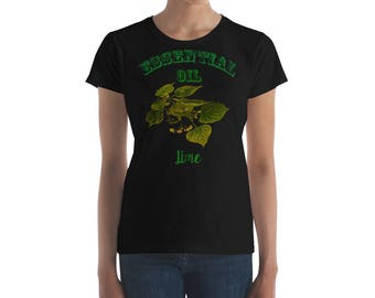Essential Oil Lime Women's short sleeve t-shirt