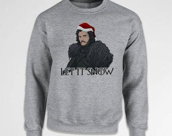 Funny Christmas Sweater Christmas Quote Santa Sweatshirt Christmas Present Ideas Holiday Present Christmas Pullover Crewneck Hoodie TEP-639