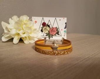 """Imitation & Stars"" bracelet"