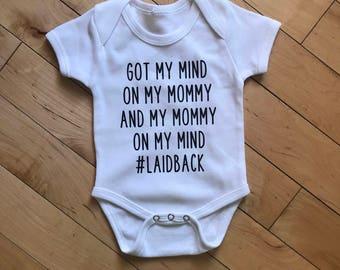 Mind on my Mommy Onesie.