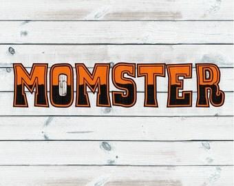 Momster, Halloween Svg,Dxf,Png,Jpeg