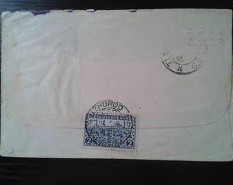Czechoslovakia Postal History Cover Uzhgorod to Timisoara 1926