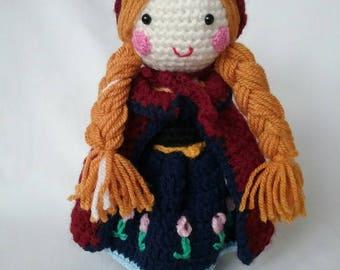 "Crochet doll ""Anna"""