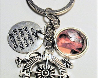 Game of Thrones Inspired Charm Key Ring