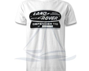 Land Rover Defender 110 TShirt, Badge, Novelty T-Shirt, Cars, Novelty Gift, Defender T-Shirt, Land Rover T-Shirt Adults